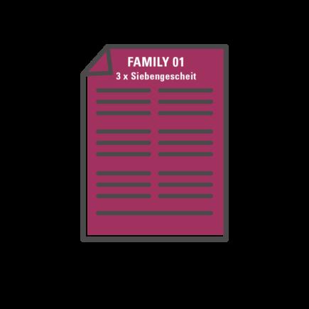 Familien Quiz Vorlagen